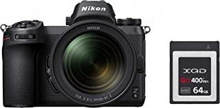 Nikon Z6 数码照相机VOA020K007 Kit + NIKKOR Z 24-70 mm 1:4 S + 64GB XQD 黑色