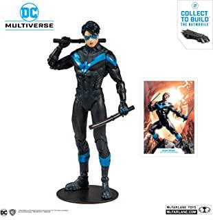 McFarlane Toys - DC 多元宇宙 - 夜翼:比蝙蝠侠可动人偶更棒