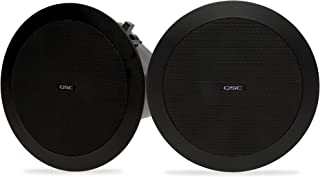 QSC AD-C4T 4.5 英寸(约 11.4 厘米)小尺寸,天花板安装扬声器 AcousticDesign