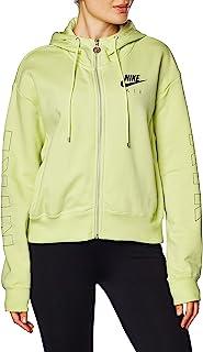 Nike 耐克 女士 NSW Air Fz 抓绒 Bb 连帽衫