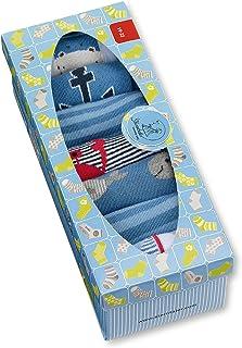 Sterntaler 思丹乐 男婴袜子 7 件套男童袜子 蓝色(*300)(制造商尺寸: