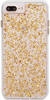 Case-Mate iPhone 8 Plus Case - KARAT - 24k Gold Elements - Slim Protective Design for Apple iPhone 8 Plus - Gold