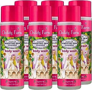Childs Farm | 儿童沐浴露 | *无花果 | 敏感肌肤 | **认可 | 250毫升 6件装