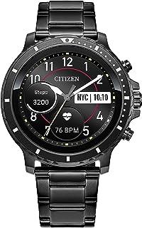 Citizen 西铁城 CZ 智能手表 46 毫米,由 Google Wear OS 提供动力,带心率、*追踪和智能手机通知