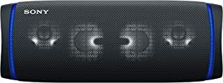 Sony 索尼 SRS-XB43 – 便携,防水,强大耐用无线蓝牙音箱,低音,电池寿命长达 24 小时 – 黑色