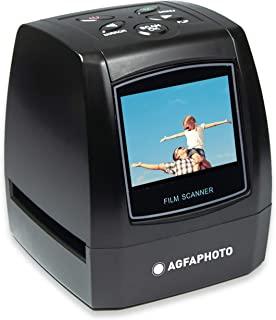 Agfa Foto-Realiview AFS100 数码电影扫描仪 35 毫米/135 和幻灯片(10 MP,LCD 屏幕,2.4 英寸),黑色