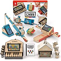 Nintendo 任天堂 Labo 游戏机配件 variation_p , 1) バラエティ キット, 1) ソフトのみ…