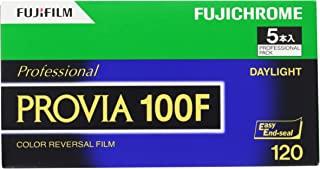 Fujifilm 富士 彩色反转胶片 FUJICHROME PROVIA 100F 胶卷 12张 5卷 120 PROVIA100F EP NP12EX5