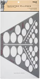 Pickett 等距椭圆模板 (1268I)