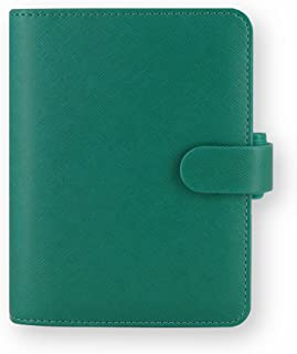 filofax 斐来仕 022526 Saffiano pocket A7 碧绿色 活页多功能记事本 笔记本 活页本日记本 万用手册 手帐