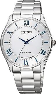 CITIZEN 西铁城 腕表 Citizen Collection 西铁城系列 Eco-Drive 光动能驱动 情侣腕表 BJ6480-51B 男士