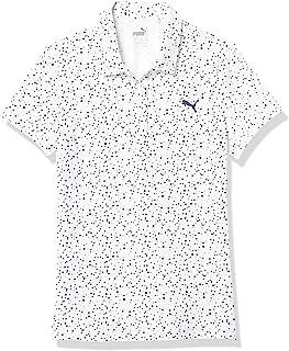 PUMA 彪马 女童高尔夫 2020 波尔卡圆点 Polo 衫