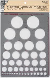 Pickett 公制圆形主模板 (1304I)
