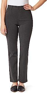 Gloria Vanderbilt 女式 Amanda Ponte 高腰针织裤