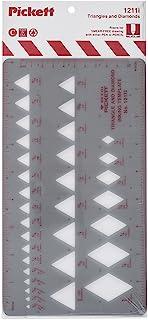 Pickett 等轴测六角螺母和头模板 9 Triangles and Diamonds