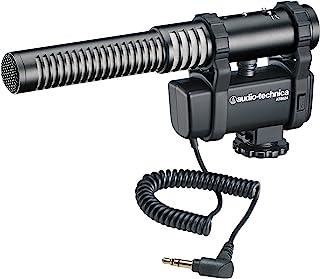 Audio-Technica AT8024 立体声/单音摄像头安装冷凝麦克风