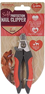 Rosewood 07102 柔软保护爪剪刀 沙龙品质 大号