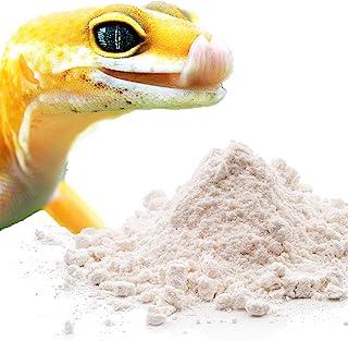 Meric 爬行动物钙粉,适合豹纹壁虎、变色龙、鬣蜥、乌龟等,避免 D3 在胡子龙中过量,Lizards Love It 非常适合免费喂食,50 克
