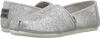 TOMS 儿童 10009955 Alpargata-K Silver Iridescent Glimmer 12 M US 儿童