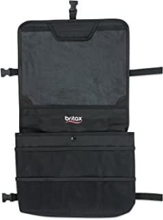 Britax View-N-Go 后座收纳包带平板电脑支架,黑色
