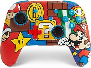 Nintendo Switch PowerA 增强无线控制器 - Mario Pop (仅在亚马逊销售)