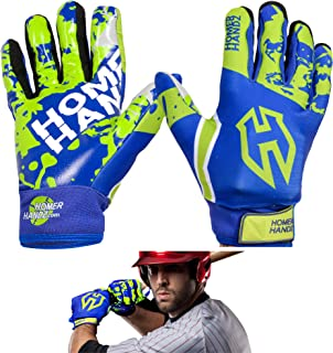 Homer Handz Adjustable Weighted Baseball Batting Training Gloves