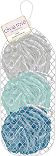 Olivia Rose - 3 件装丝瓜包 - 灰色、薄荷色、蓝色