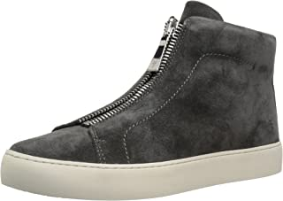 Frye 女式 Lena 拉链高帮时尚运动鞋