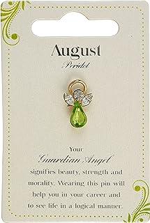 Guardian Angel Birthstone August | 礼品创意 | Pind Badge | 胸针,银色,均码