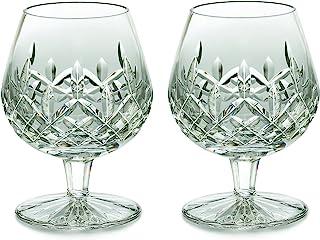 Waterford Lismore 2件套水晶品蓝玻璃杯 透明 均码 6.22318e+009