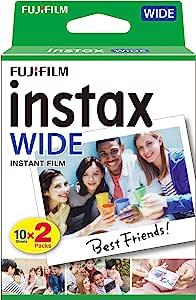 Fujifilm 富士 instax 宽幅胶片, 20张胶片 16385995