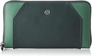 Piquadro Muse 证件袋,19 厘米 Verde Mirto 19 cm