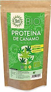 Solnatural Hanfprotein Bio 250 g Haferkeimung 250 g 100 ml