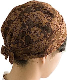 三喜工业 时尚发帽 优雅蕾丝 棕色