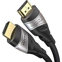 KabelDirekt – 2 米 – 8K HDMI 2.1 超高速 HDMI 电缆,认证(48G,8K@60Hz…