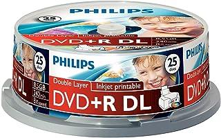 Philips 飞利浦 DR8I8B25F - DVD+R DL x 25-8.5 GB