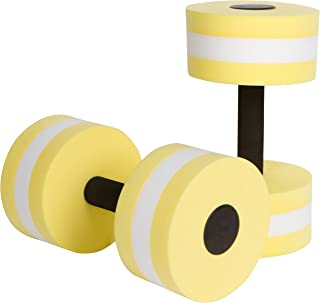 Aquatic Exercise Dumbells - Set of 2 - For Water Aerobics - By Trademark Innovations
