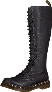 Dr. Martens 女式 1B60 20 孔拉链靴