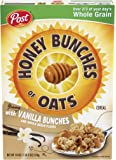 Honey Bunches of Oats With Vanilla Bunches Breakfast Cereal…