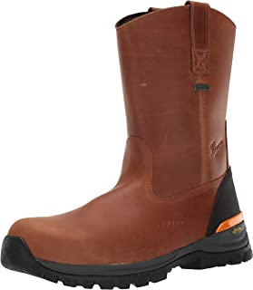 """Danner 男士 Stronghold Wellington 10"""" Construction Boot"""