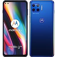Moto g 5G Plus 双卡智能手机(6.7 英寸-CinemaVision FHD+-显示屏,48 MP-四倍相…