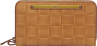 Fossil Liza 环绕式拉链手拿包,棕褐色