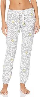 PJ Salvage 女式 Smiley 带状长裤