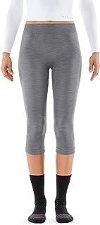 Falke 女式 3/4 紧身裤羊毛科技七分裤