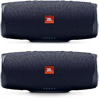 JBL Charge 4 便携式防水无线蓝牙音箱套装 - (一对)黑色