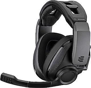 Sennheiser 森海塞尔 无线游戏耳机 GSP 670|低延迟&蓝牙连接 7.1 声道环绕声 降噪麦克风 简单麦克风静音功能 PC、PS4、智能手机适用