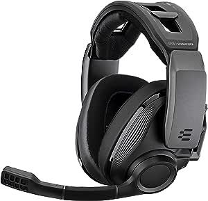 Sennheiser 森海塞尔 GSP 670 高级无线游戏耳机,无延迟和蓝牙连接,Sennheiser 7.1环绕声,双音频和聊天音量控制,PS4 + PC - 黑色