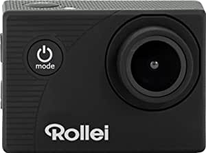 Rollei Actioncam 372 - 运动摄像机全高清视频分辨率 1080p / 30 fps,广角镜头,防水深度达 30 米,包括水下保护壳 - 黑色