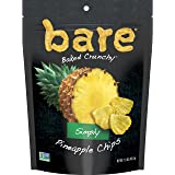 裸简单的菠萝水果零食包,无麸质零食,1.6 盎司,(6 个计数)