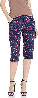 LEE 女士灵活实用Skimmer 七分裤